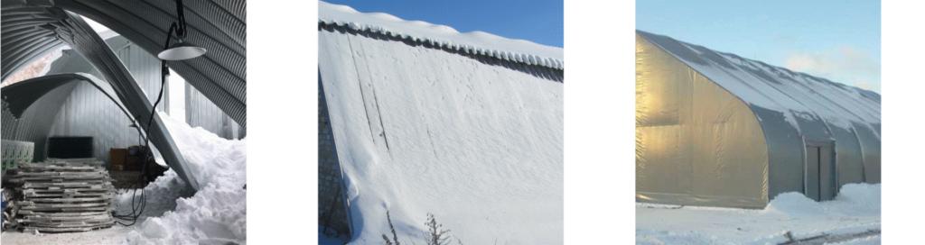 снеговая нагрузка ангар