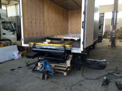 Замена платформы грузового автомобиля