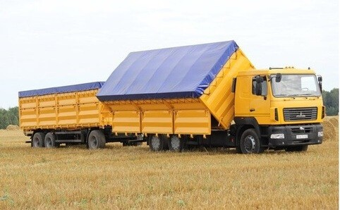 тент на зерновоз
