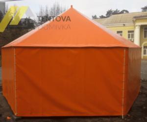 палатка из тентовой ткани